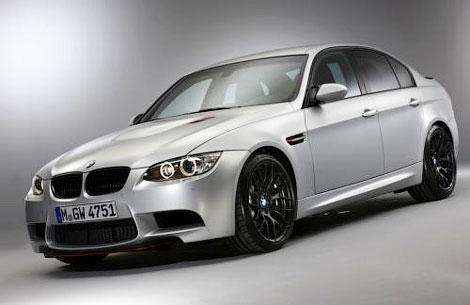 Компания BMW рассекретила седан M3 CRT с карбоновыми кузовными панелями