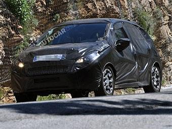 Начались испытания преемника Peugeot 207
