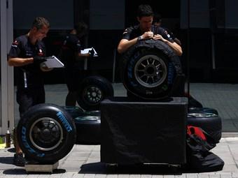 В Формуле-1 появятся квалификационные шины