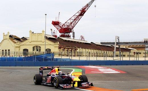Феттель стартует с поул-позиции на Гран-при Европы