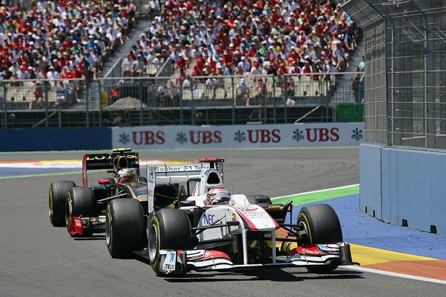 Себастьян Феттель выиграл Гран-при Европы. Фото 2