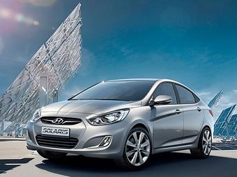 Автомобили Hyundai Solaris получат руссифицированные штатные навигаторы