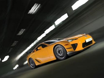 Суперкар Lexus LFA попал в десятку быстрейших машин Нюрбургринга