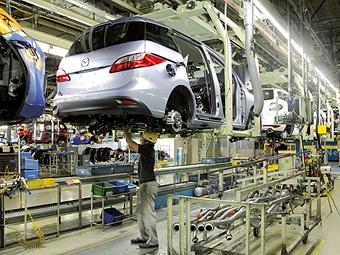 Компания Mazda полностью восстановила производство на японских заводах