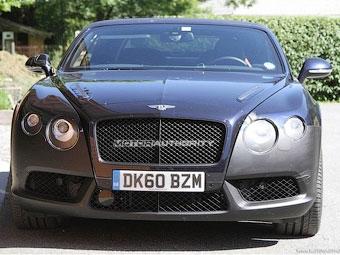 Самый мощный Bentley Continental GTC готовится к обновлению
