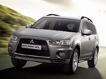 В июле в России появится Mitsubishi Outlander XL с мотором 3.0
