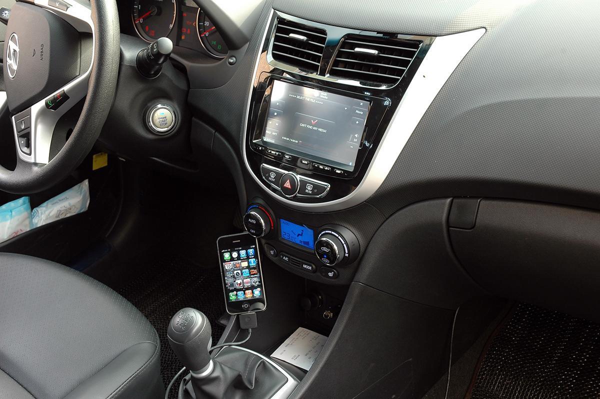 Разбираемся в функциях штатного навигатора Hyundai Solaris