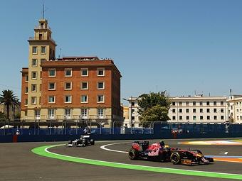 Гран-при Испании Формулы-1 переедет из Барселоны в Валенсию