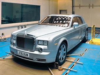 Rolls-Royce испытал электрический Phantom перед кругосветкой