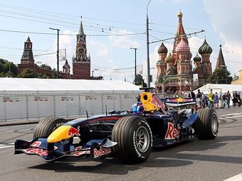 В показательных заездах Формулы-1 в Сочи примет участие команда Red Bull