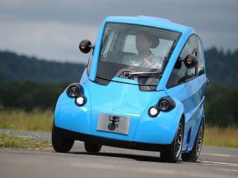 Разработчик суперкара McLaren F1 построил маленький электромобиль