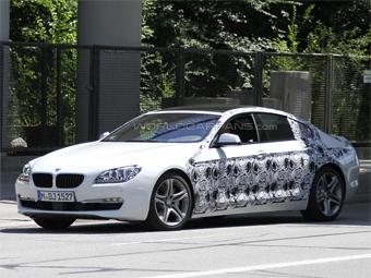 """В BMW приступили к тестам четырехдверного купе на базе """"пятерки"""""""