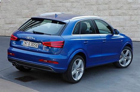 Компания Audi показала версию Q3 с 340-сильным пятицилиндровым мотором. Фото 1