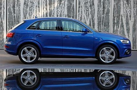 Компания Audi показала версию Q3 с 340-сильным пятицилиндровым мотором. Фото 2