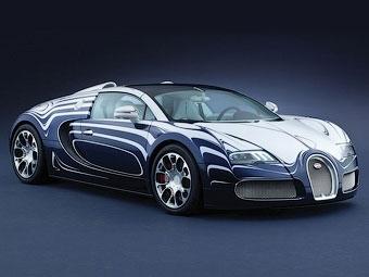 Bugatti представил фарфоровый родстер Veyron