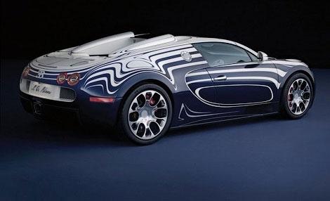 Компания Bugatti представила эксклюзивную модификацию модели Veyron Grand Sport. Фото 2