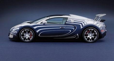 Компания Bugatti представила эксклюзивную модификацию модели Veyron Grand Sport. Фото 3