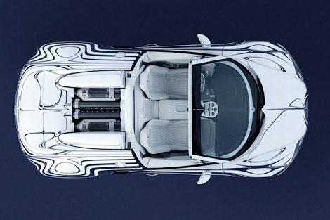 Компания Bugatti представила эксклюзивную модификацию модели Veyron Grand Sport. Фото 4