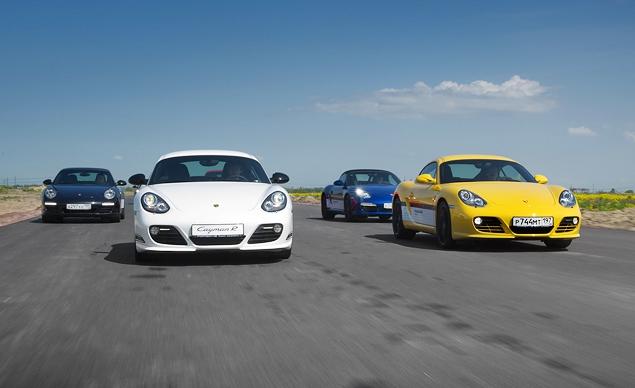 Ездим на Porsche по недостроенной трассе в Шушарах. Фото 6