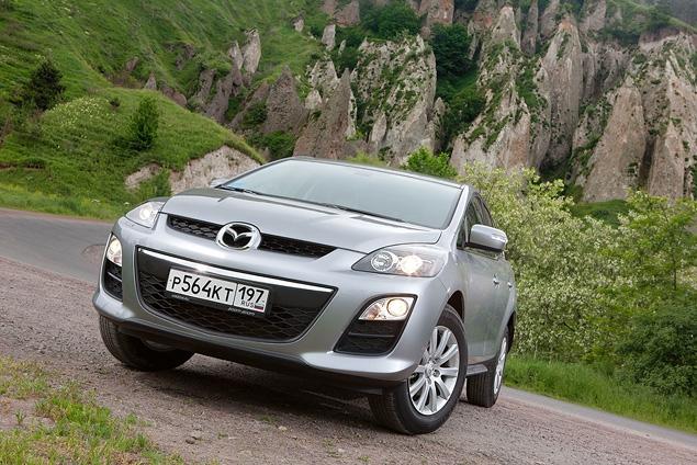 Тест-драйв бюджетной версии Mazda CX-7