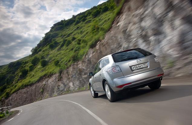 Тест-драйв бюджетной версии Mazda CX-7. Фото 2