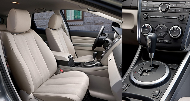 Тест-драйв бюджетной версии Mazda CX-7. Фото 6