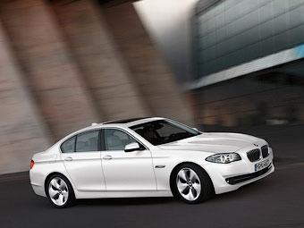 """Компания BMW модернизировала техническую начинку """"пятерок"""""""