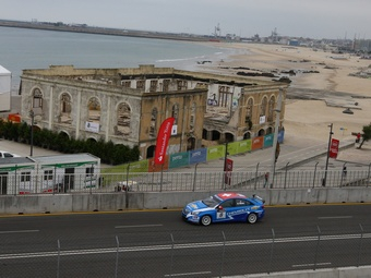 Гонщики Chevrolet заняли весь подиум на уличной гонке WTCC в Португалии