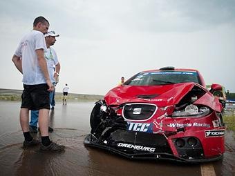 Победителем дождевого этапа RTCC стал Александр Фролов
