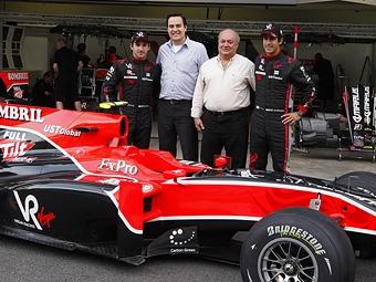 Команда Marussia Virgin заключила партнерское соглашение с McLaren