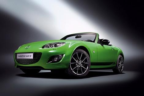 Компания Mazda представила специальную модификацию родстера MX-5. Фото 1