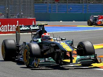 На болидах команды Team Lotus появятся логотипы Caterham