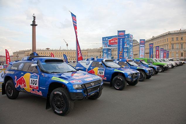 """Ралли-рейд """"Шелковый путь"""" стартует с Красной площади. Фото 5"""