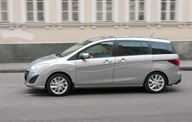Длительный тест Mazda5: вторая неделя. Фото 4