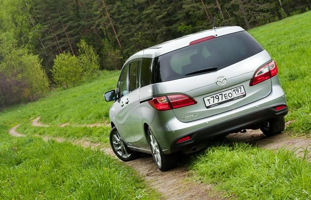 Длительный тест Mazda5: вторая неделя. Фото 5