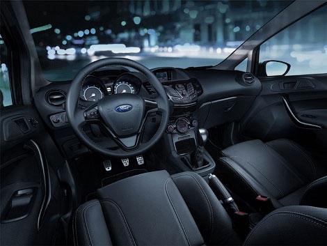 Ford представила представила специальную модификацию хэтчбека Fiesta Sport. Фото 1