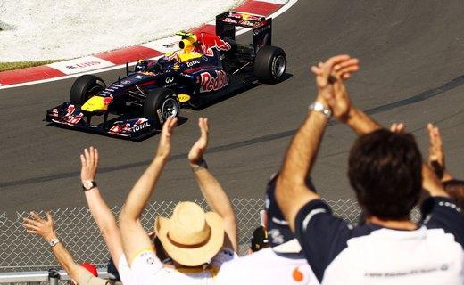 Команда Red Bull стартует с первого ряда на Гран-при Великобритании
