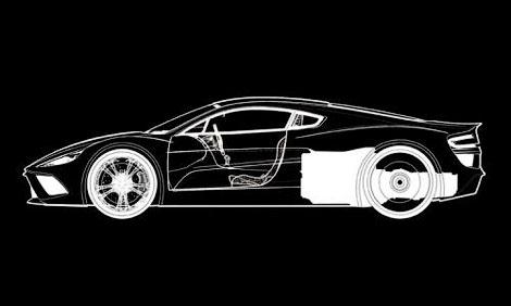 Компания HBH построит суперкар на базе переднемоторного купе Aston Martin V12 Vantage
