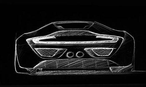 Компания HBH построит суперкар на базе переднемоторного купе Aston Martin V12 Vantage. Фото 1