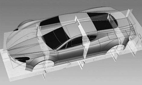Компания HBH построит суперкар на базе переднемоторного купе Aston Martin V12 Vantage. Фото 2