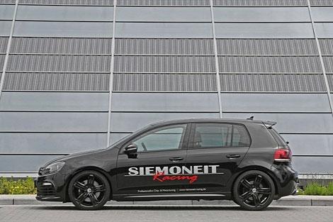 Тюнинг-ателье Siemoneit Racing представила программу доработок для хэтчбека Volkswagen Golf R. Фото 1