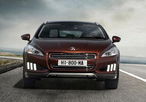 Компания Peugeot представила новую модификацию модели 508