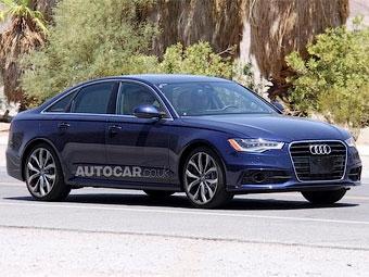 Появились фотографии самого мощного Audi А6