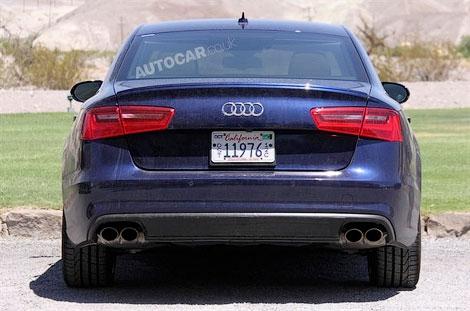 """Опубликованы шпионские снимки """"заряженной"""" версии седана Audi A6"""