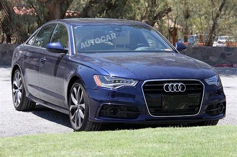 """Опубликованы шпионские снимки """"заряженной"""" версии седана Audi A6. Фото 1"""