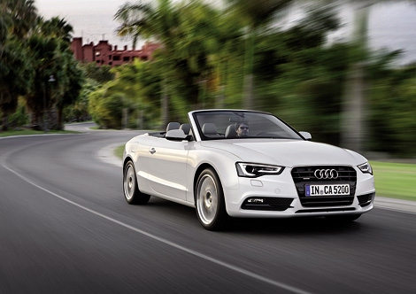 Компания Audi официально представила рестайлинговые автомобили семейства A5. Фото 1
