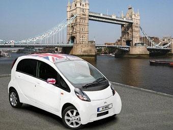 Британцам предложили разукрасить электрокар Mitsubishi i-MiEV