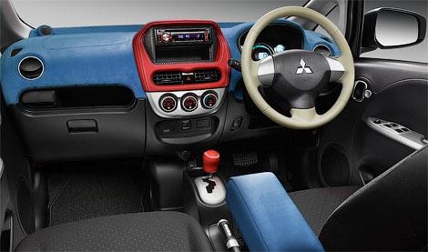Компания Mitsubishi предложила британским клиентам персонифицировать свой автомобиль
