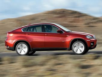 Обновленный BMW X6 получит дизель с тремя турбинами