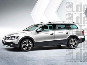 """""""Внедорожный"""" VW Passat появится в конце года"""